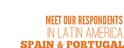 Find our panelists  in Latin America, Spain and Portugal